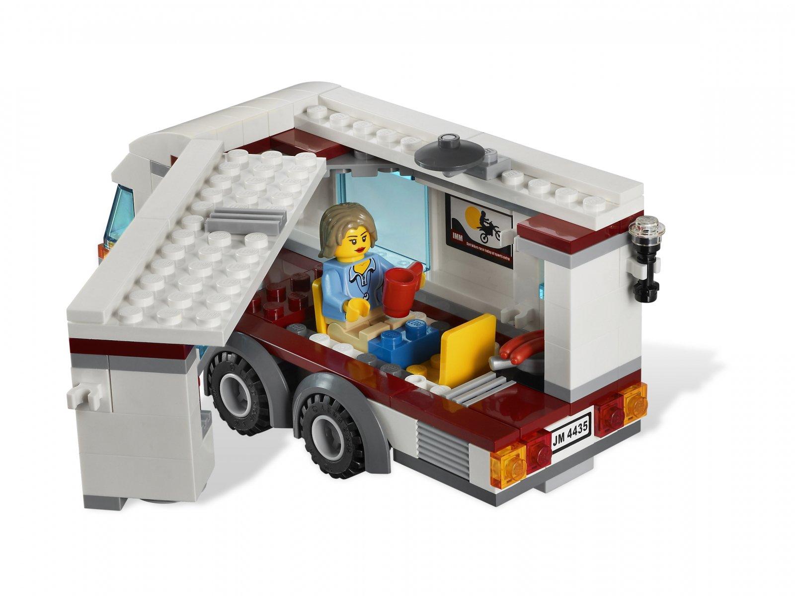 Lego 4435 City Samochód Z Przyczepą Kempingową