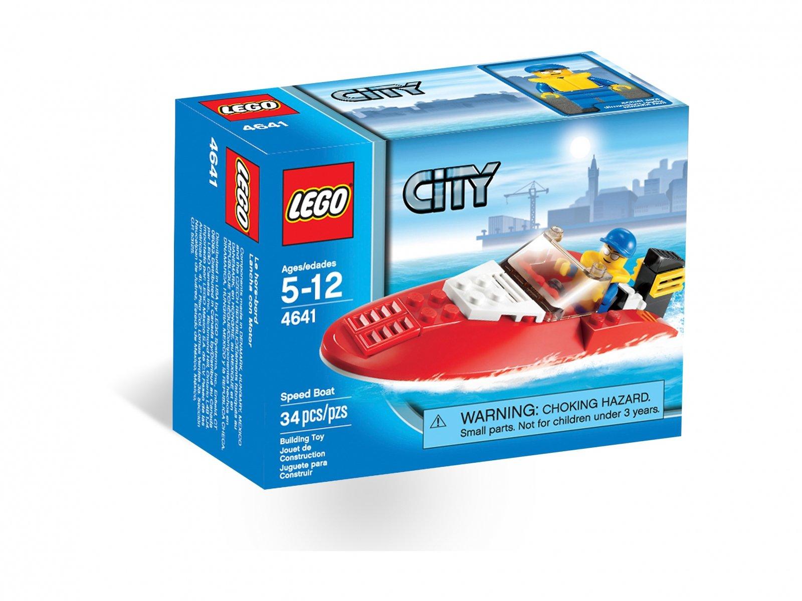 LEGO 4641 City Łódź wyścigowa