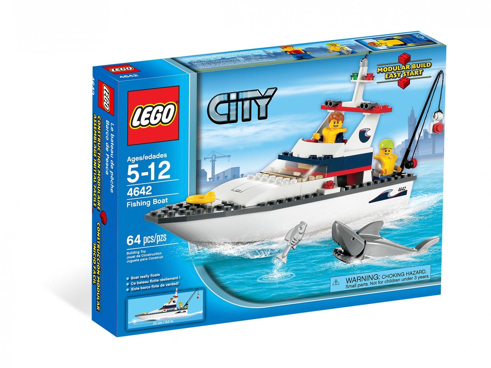 LEGO 4642 Jacht motorowy