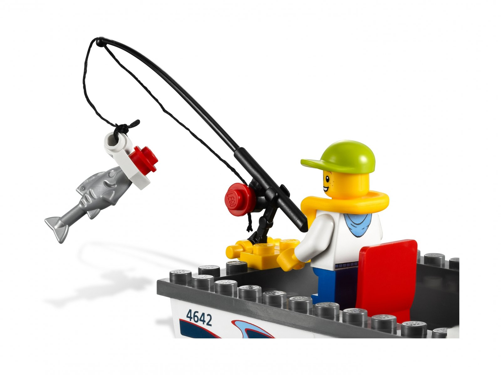 LEGO City Jacht motorowy 4642