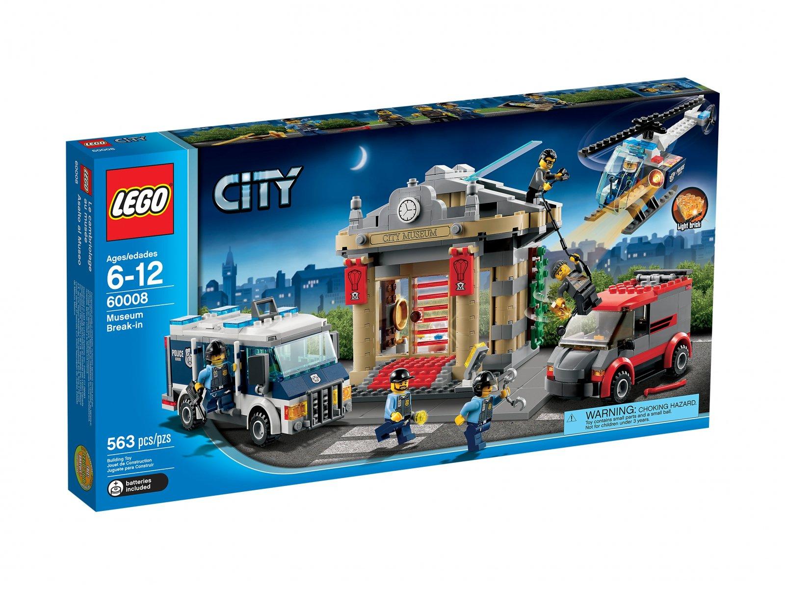 Lego 60008 City Włamanie Do Muzeum Zklockówpl