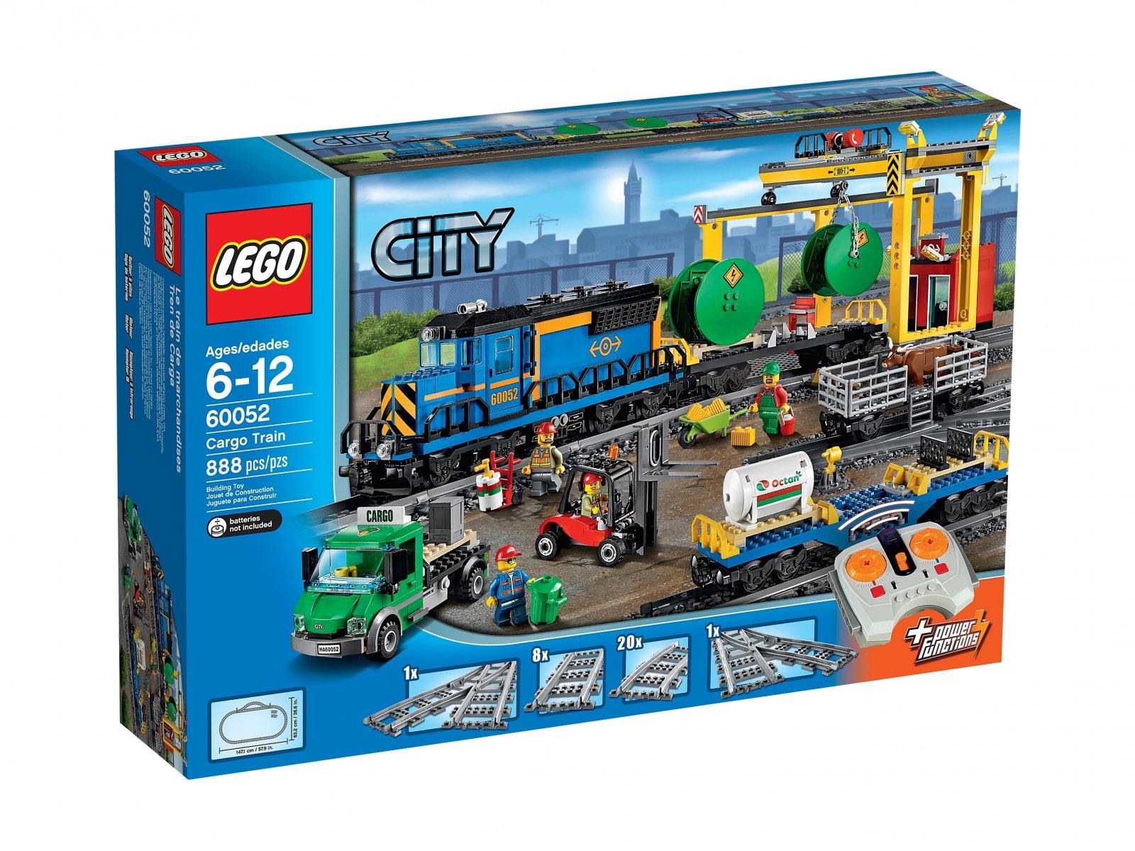 Lego 60052 City Pociąg Towarowy Zklockówpl