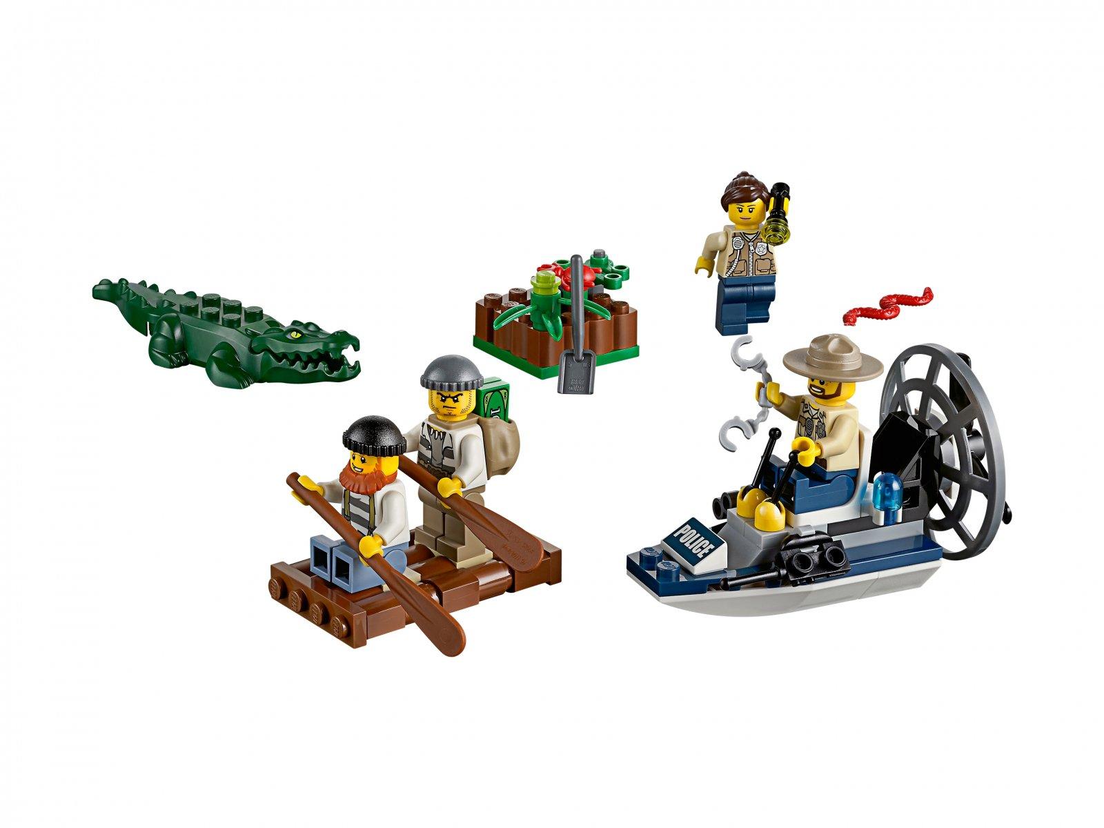 Lego 60066 City Policja Z Bagien Zestaw Startowy