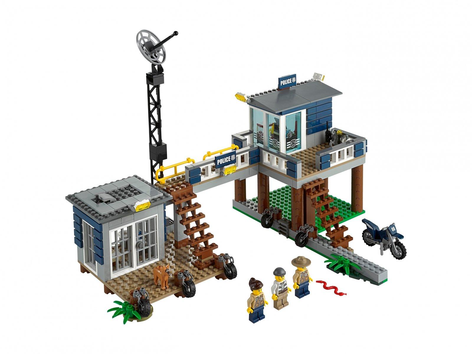Lego 60069 City Posterunek Policji Z Bagien Zklockówpl