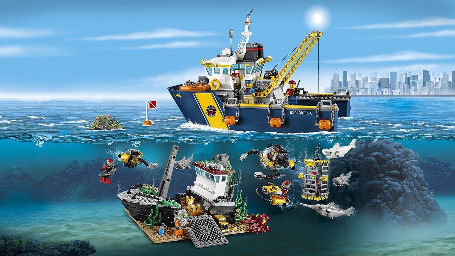 LEGO 60095 City Statek do badań głębinowych