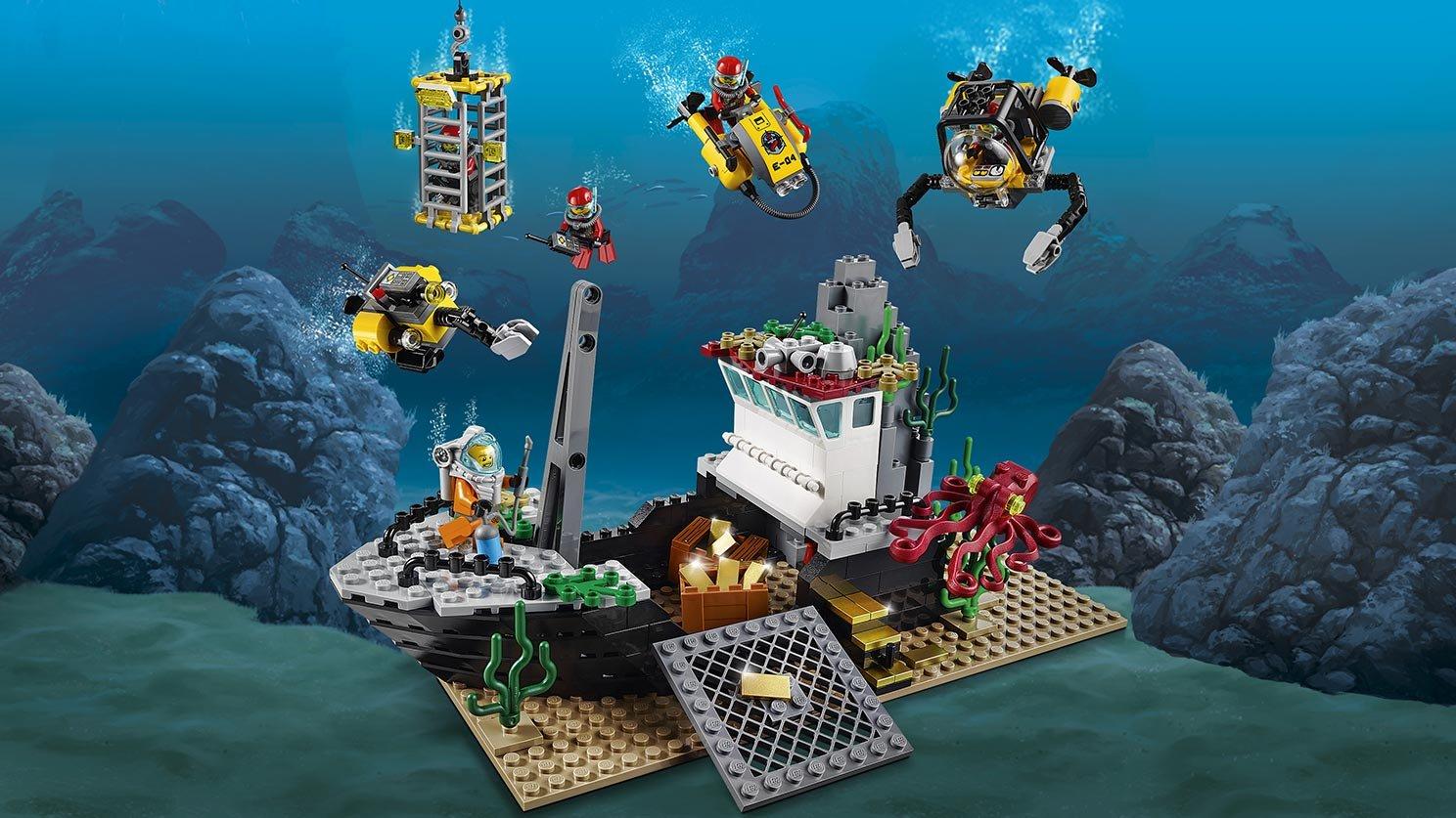 LEGO City 60095 Statek do badań głębinowych