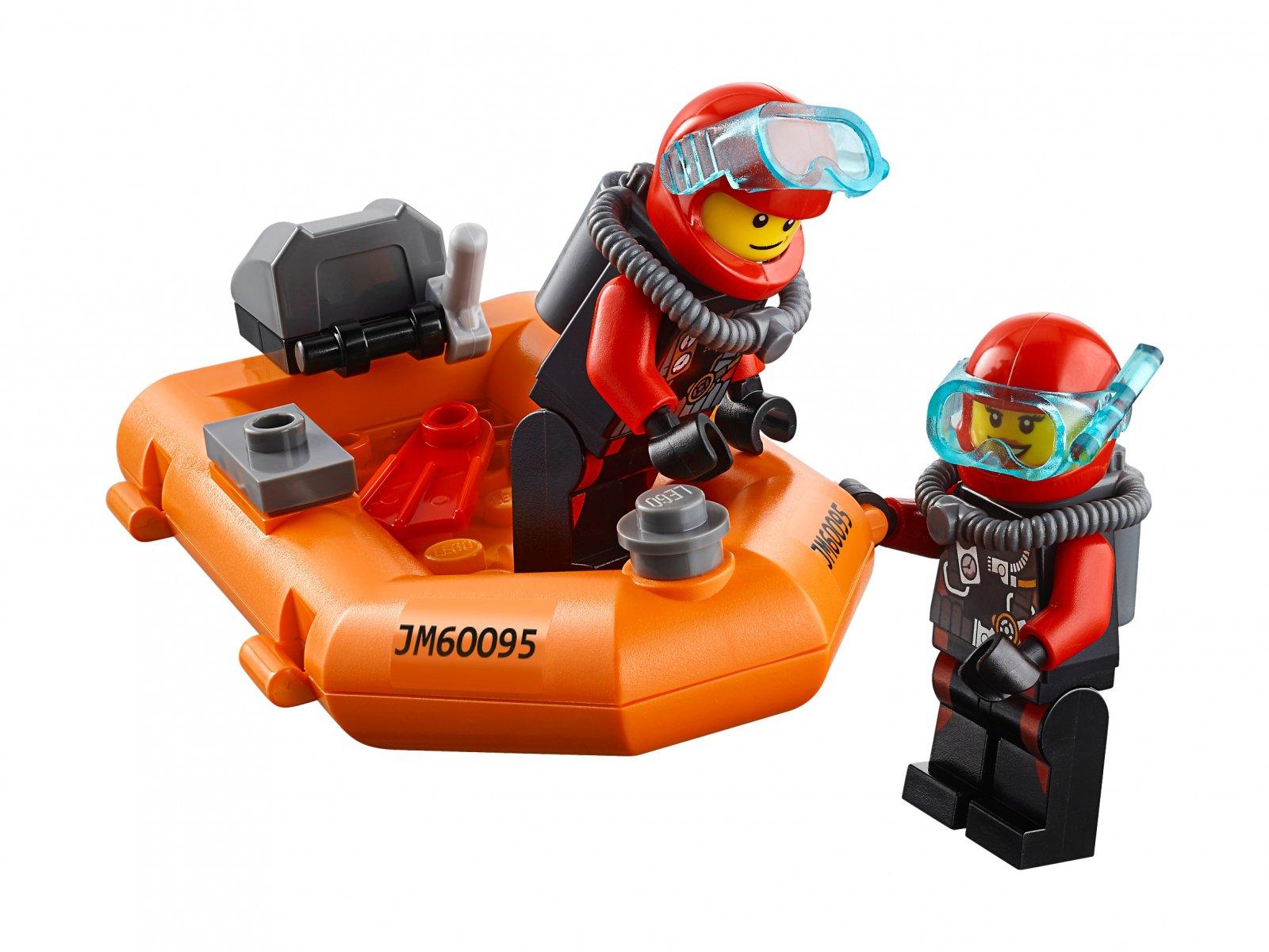 LEGO City Statek do badań głębinowych 60095