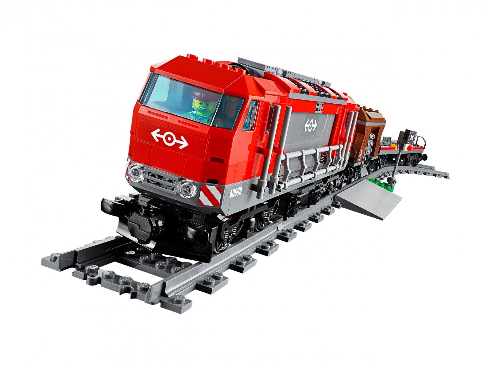 60098 LEGO City Pociąg towarowy