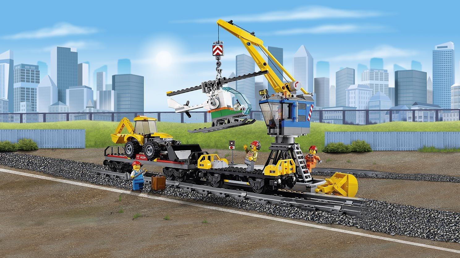 Lego 60098 City Pociąg Towarowy Zklockówpl