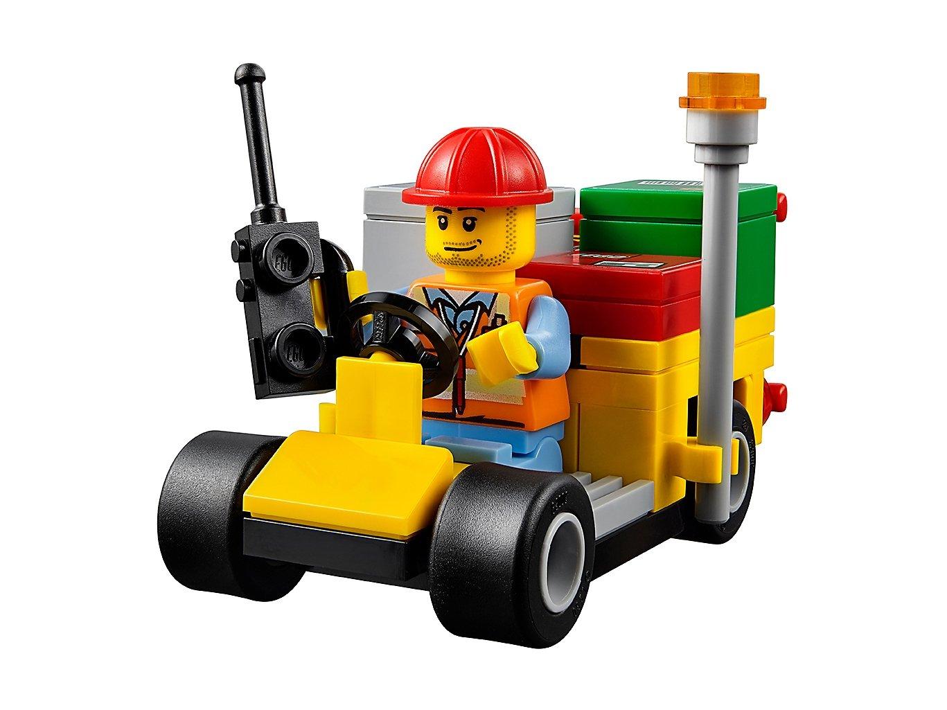 LEGO City 60101 Samolot transportowy