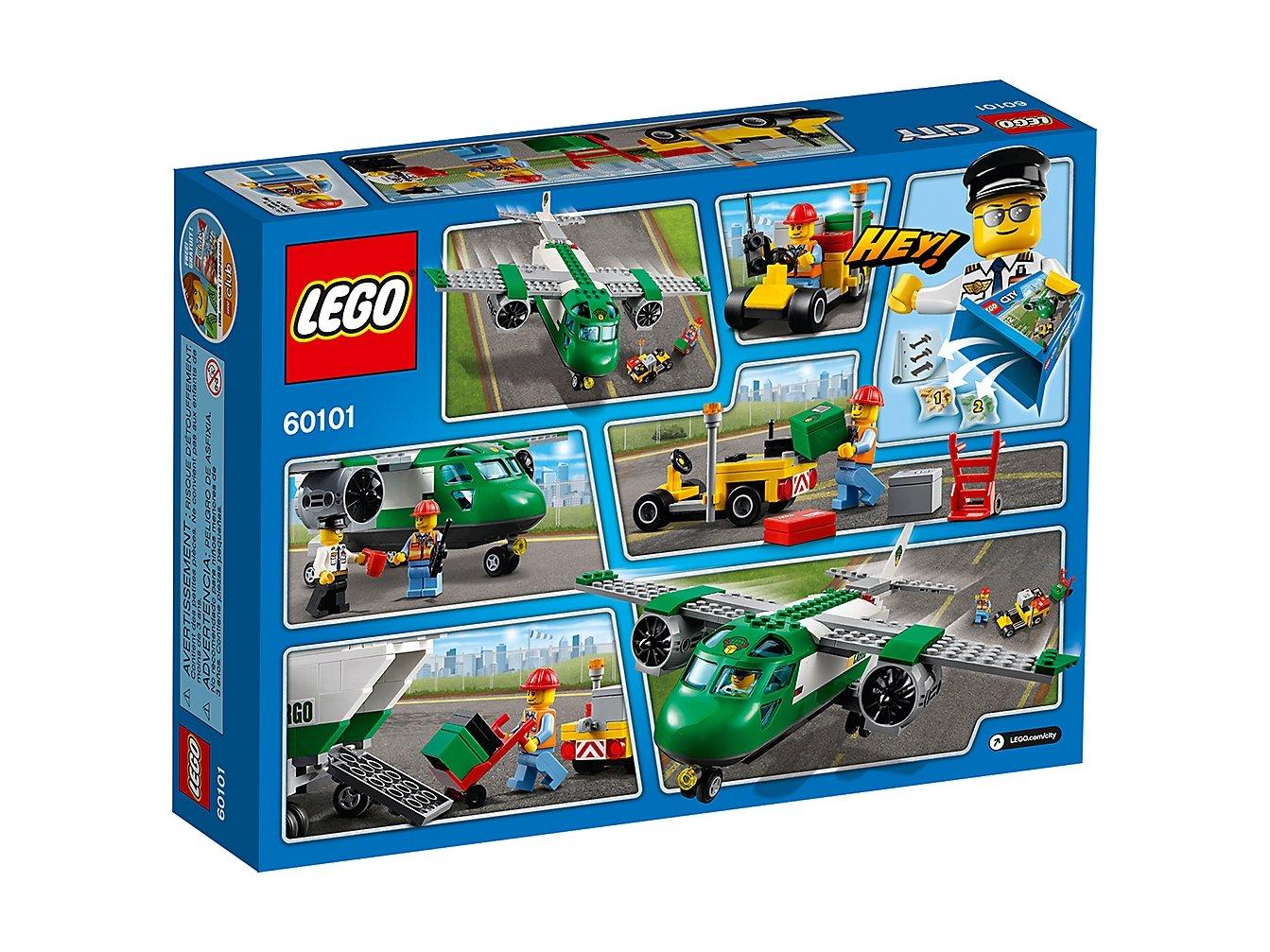 LEGO 60101 City Samolot transportowy