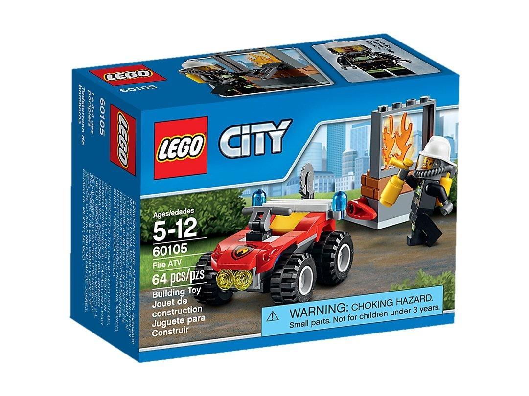 Lego 60105 City Strażacki Quad Zklockówpl