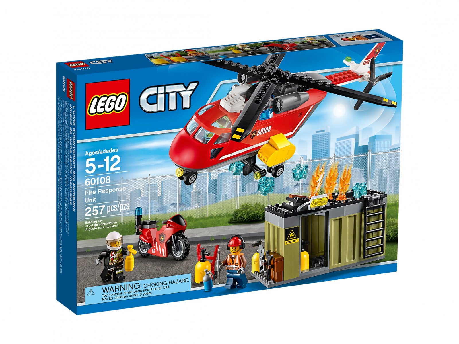 LEGO City Helikopter strażacki