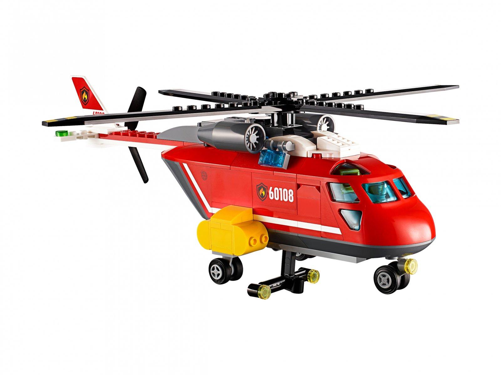 Lego 60108 City Helikopter Strażacki Zklockówpl