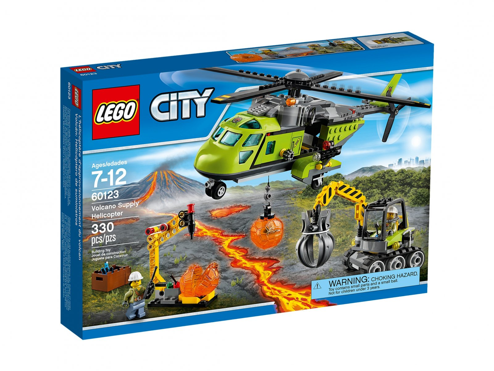 LEGO 60123 Helikopter dostawczy