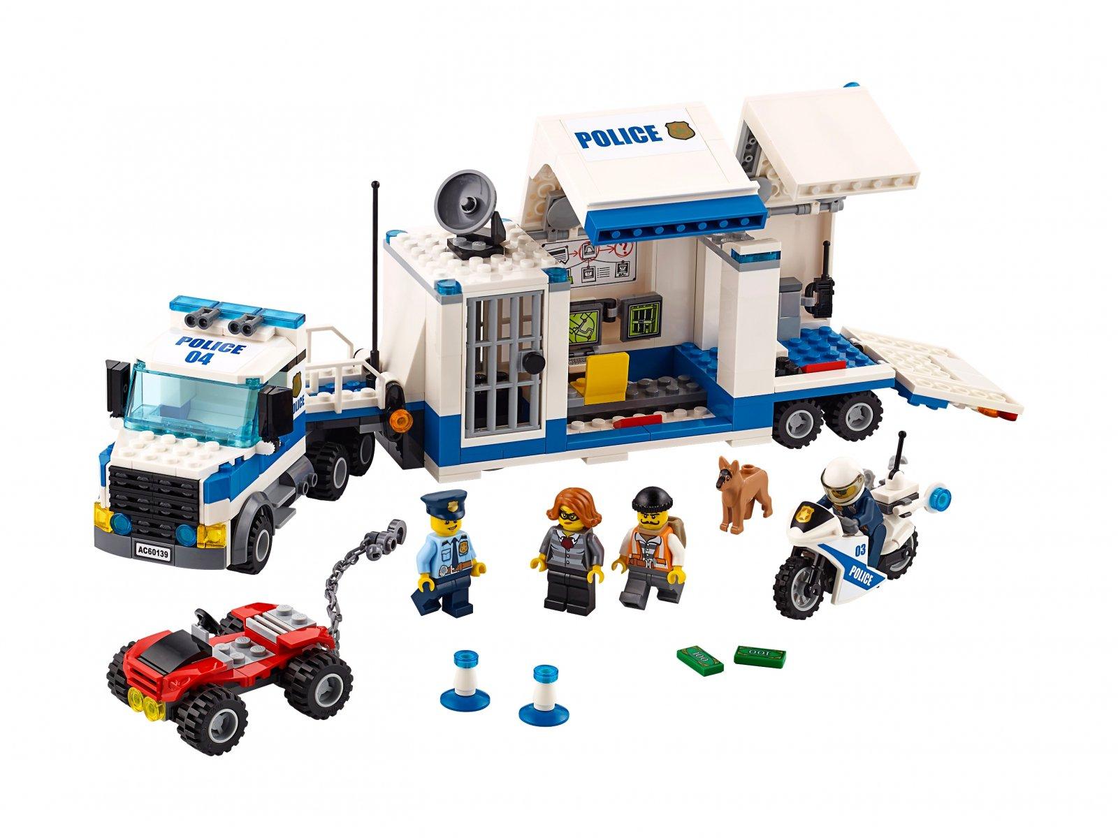 LEGO City 60139 Mobilne centrum dowodzenia