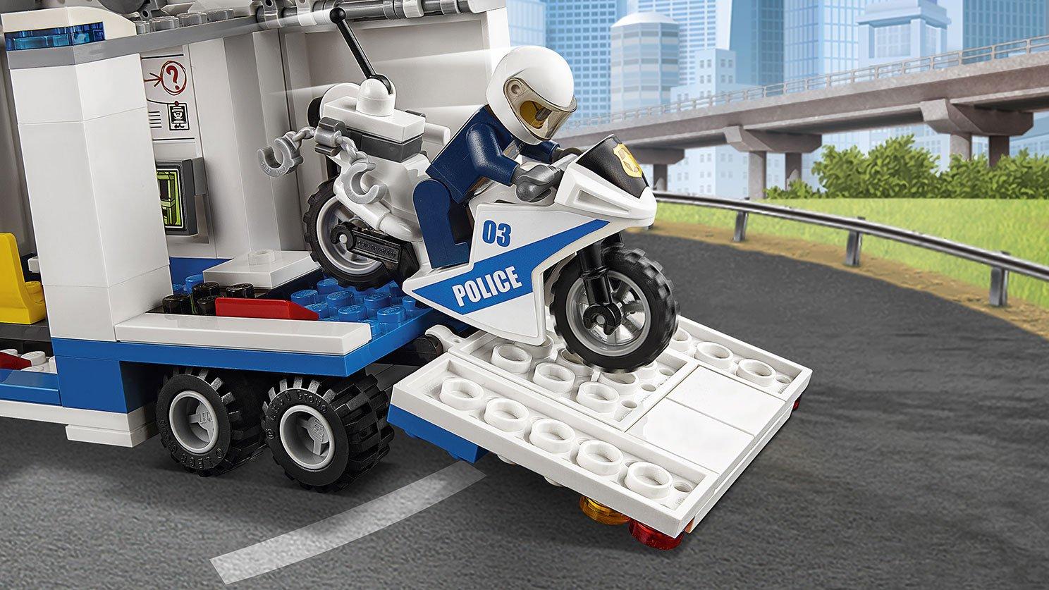 LEGO City Mobilne centrum dowodzenia