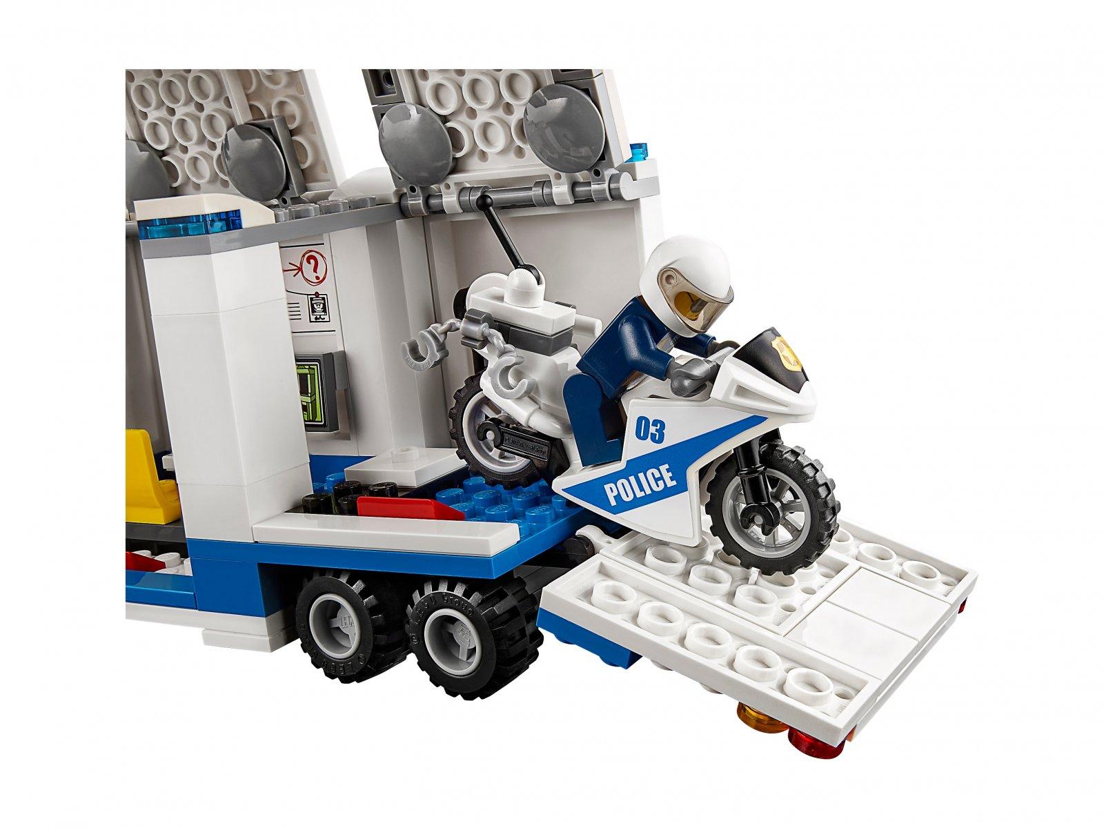 LEGO 60139 City Mobilne centrum dowodzenia