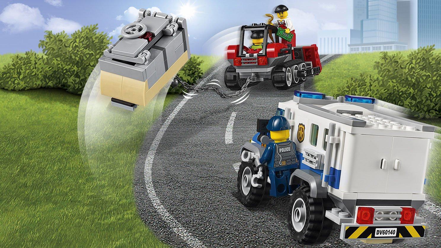 LEGO City Włamanie buldożerem