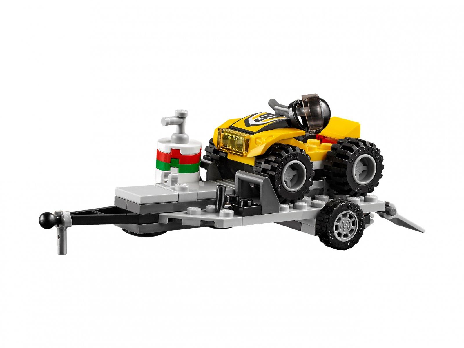 LEGO City Wyścigowy zespół quadowy