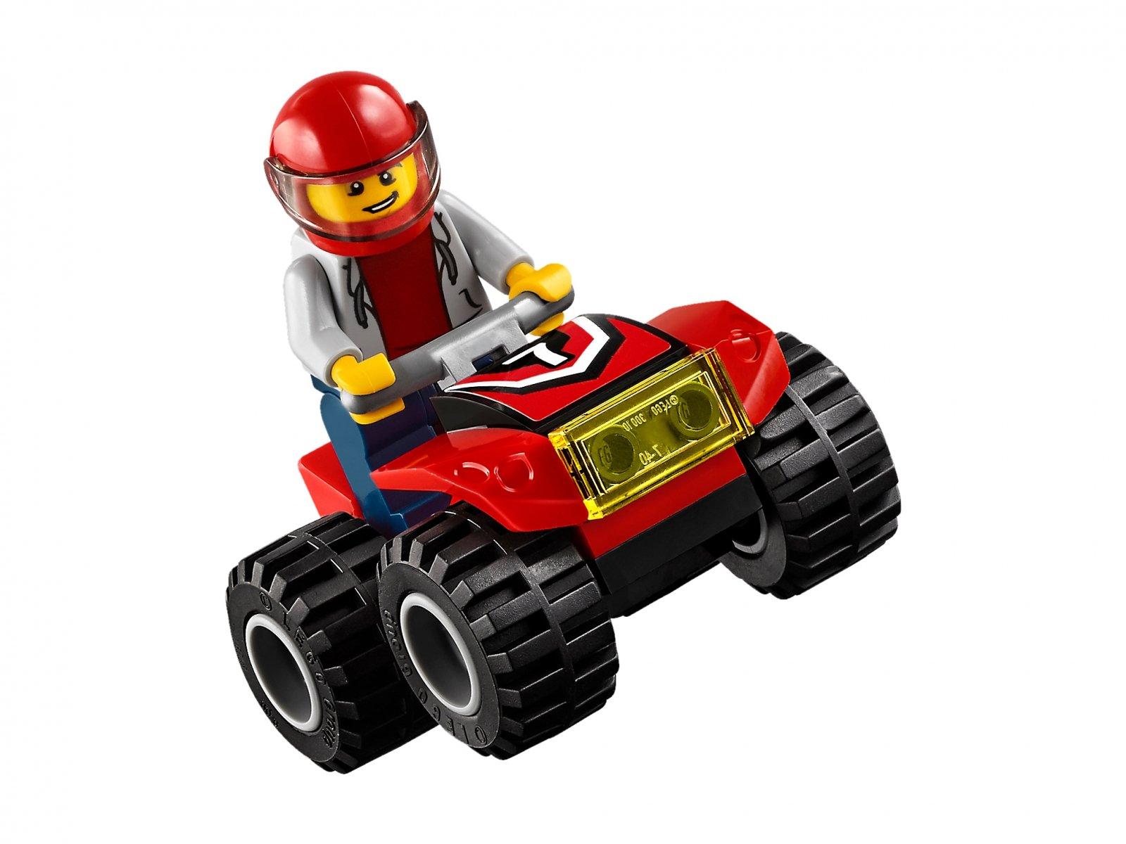 LEGO City 60148 Wyścigowy zespół quadowy