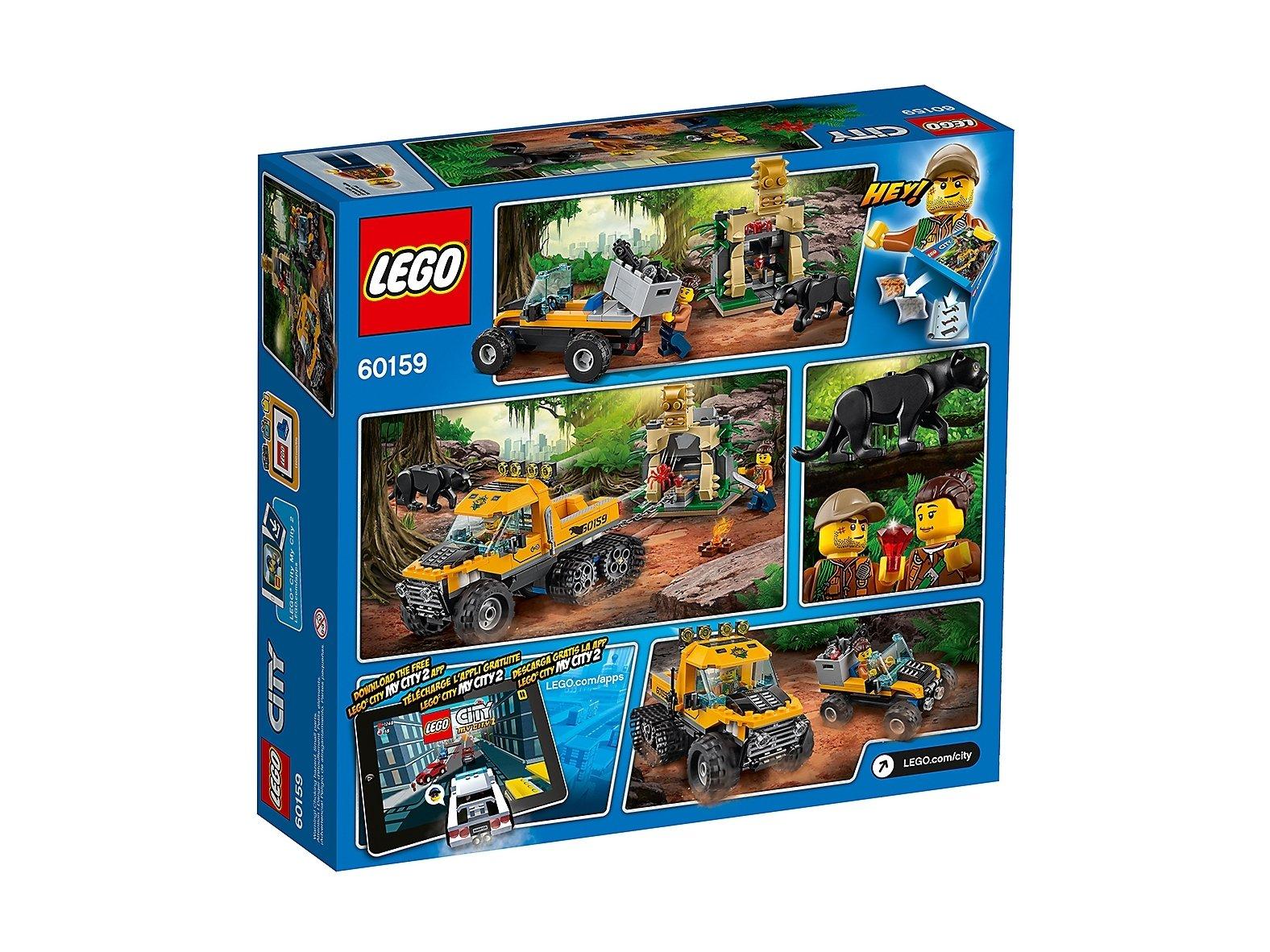 LEGO 60159 City Misja półgąsienicowej terenówki