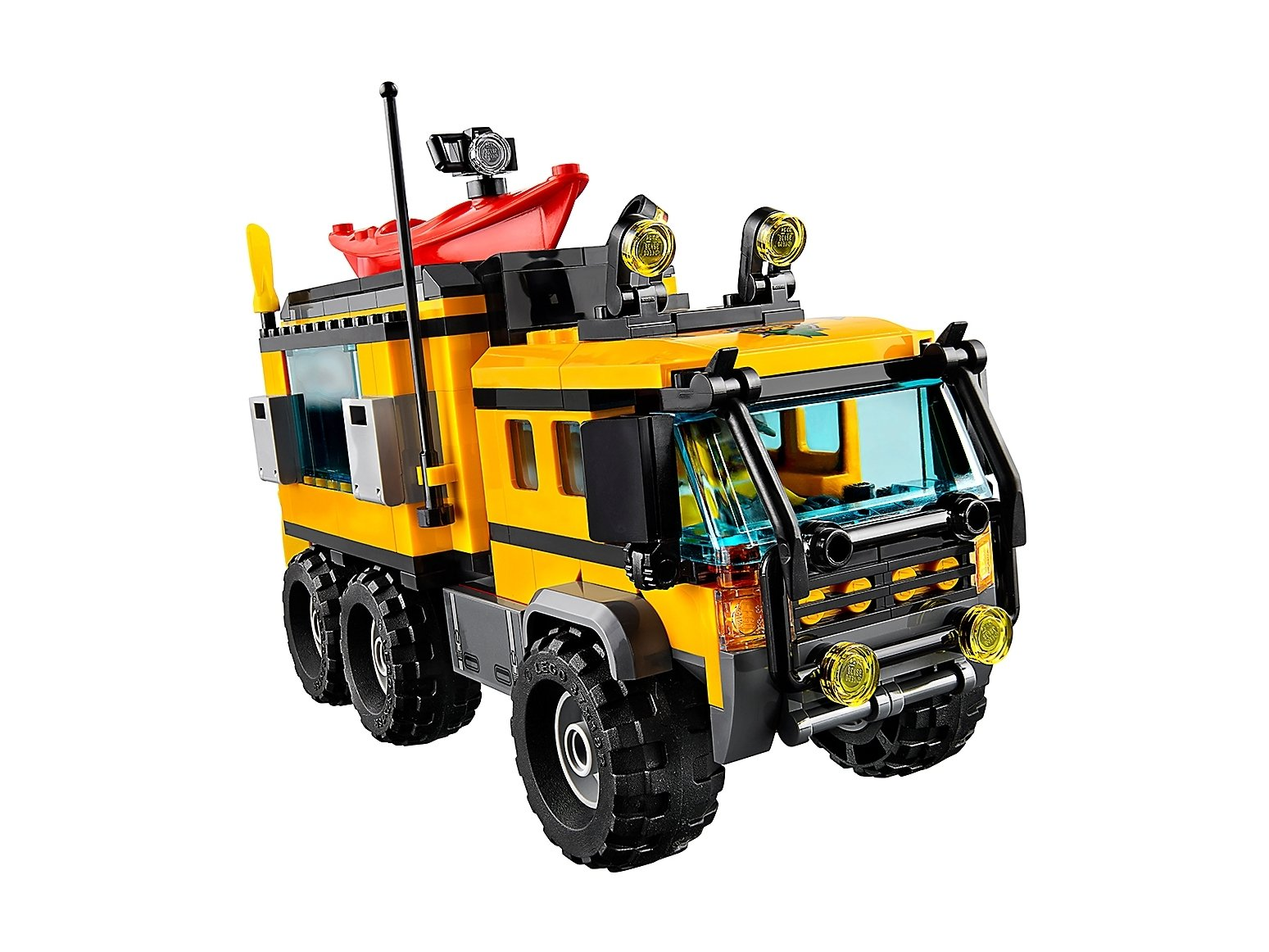LEGO City Mobilne laboratorium