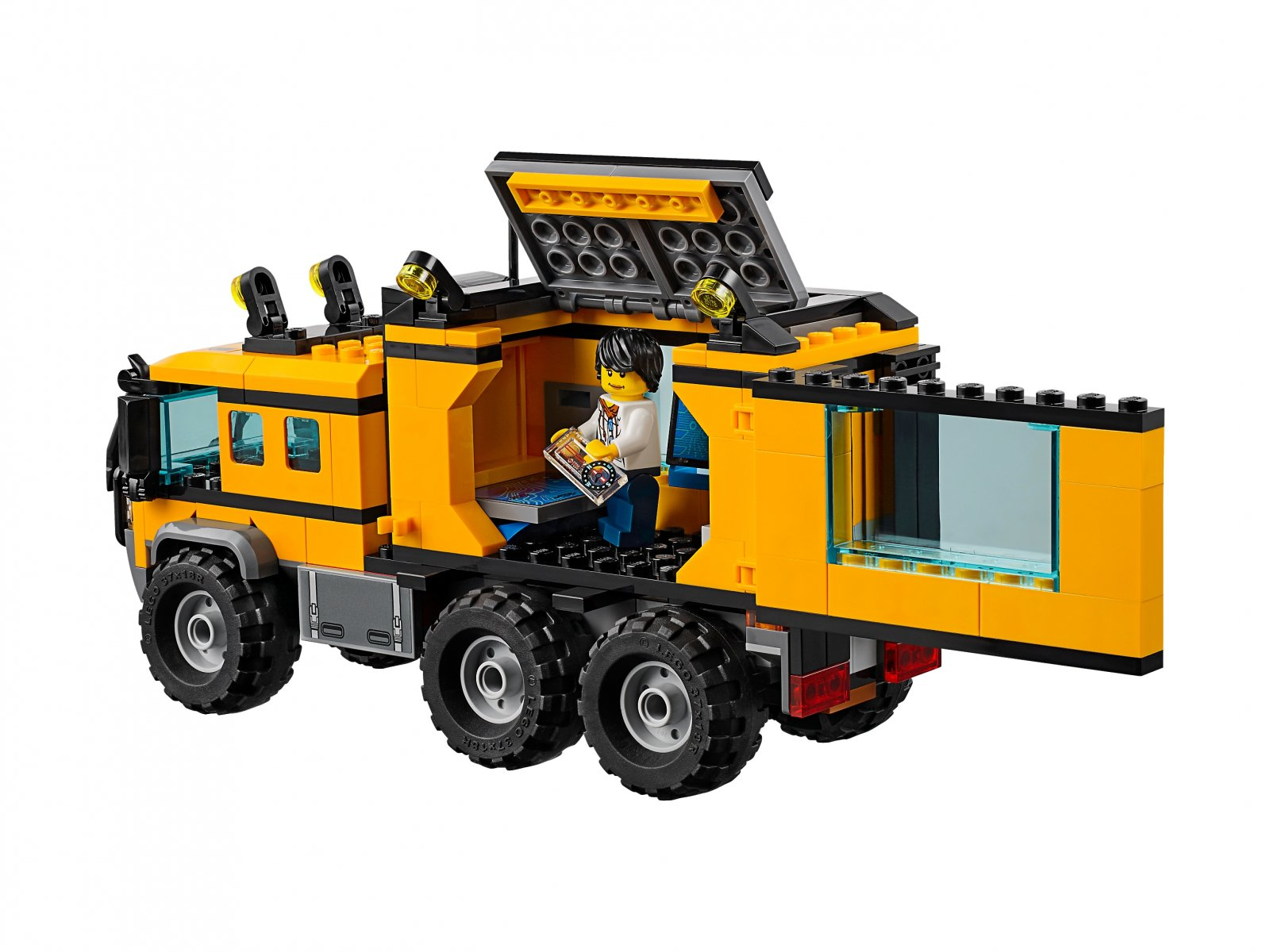 LEGO City Mobilne laboratorium 60160
