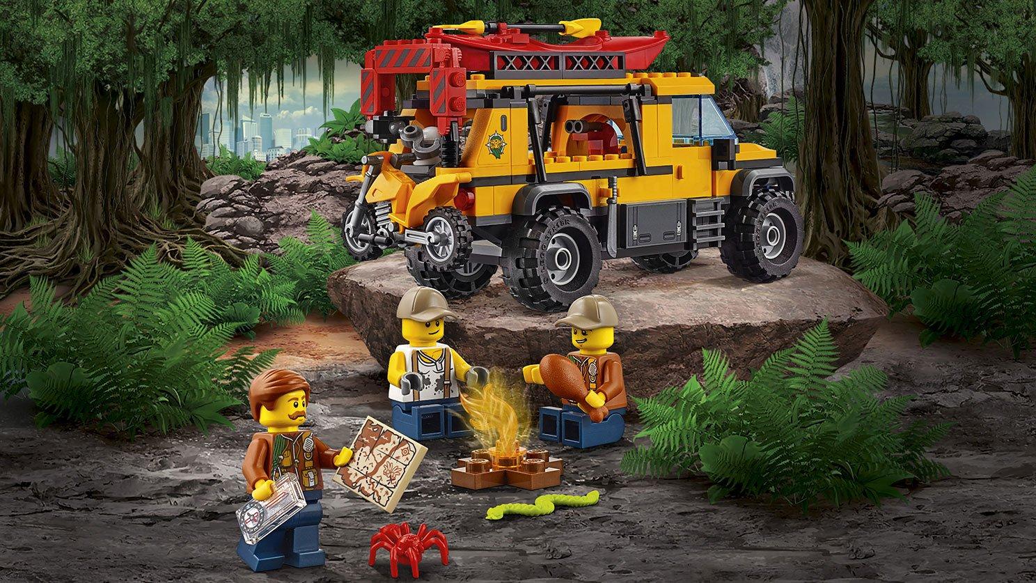 LEGO City Baza w dżungli