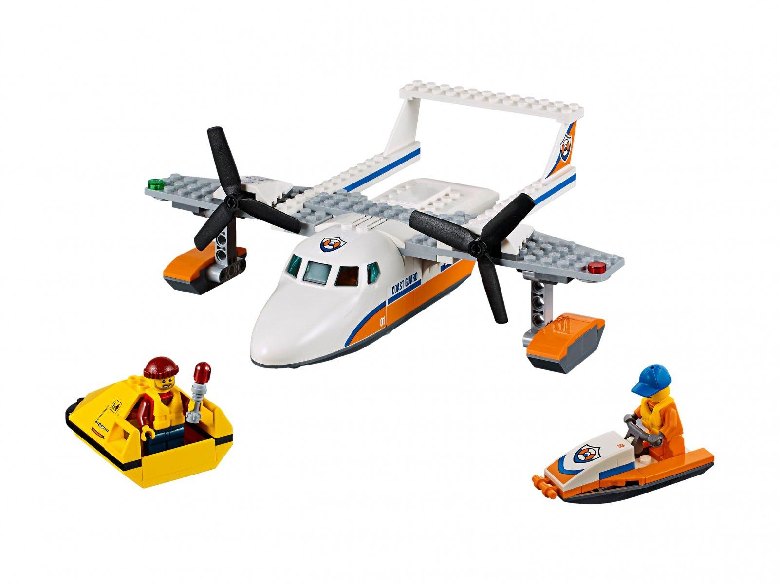 LEGO City Hydroplan ratowniczy 60164