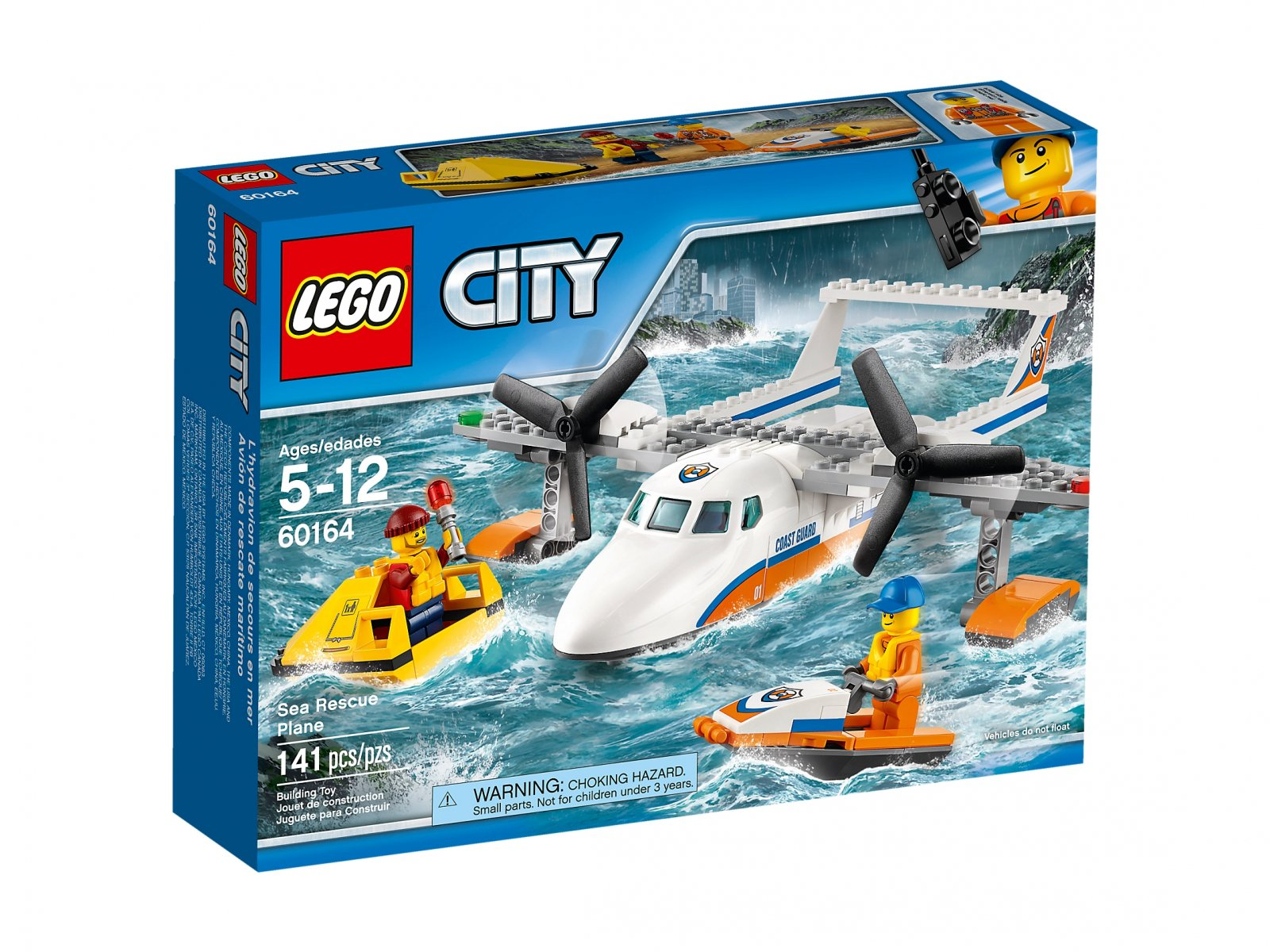LEGO City Hydroplan ratowniczy
