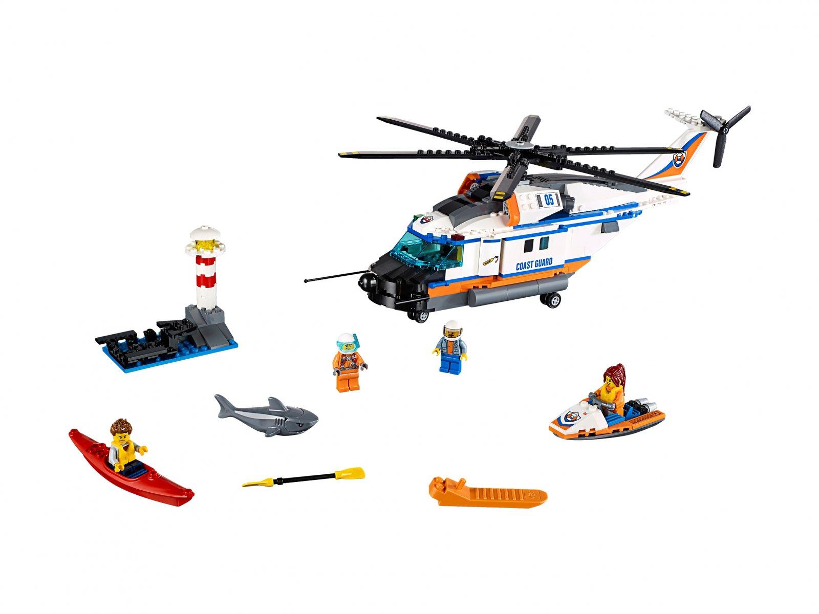 LEGO 60166 Helikopter ratunkowy do zadań specjalnych