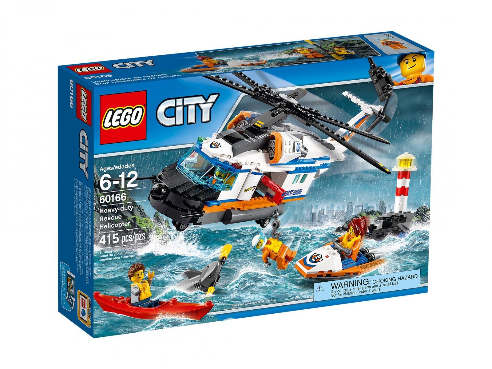 LEGO City Helikopter ratunkowy do zadań specjalnych