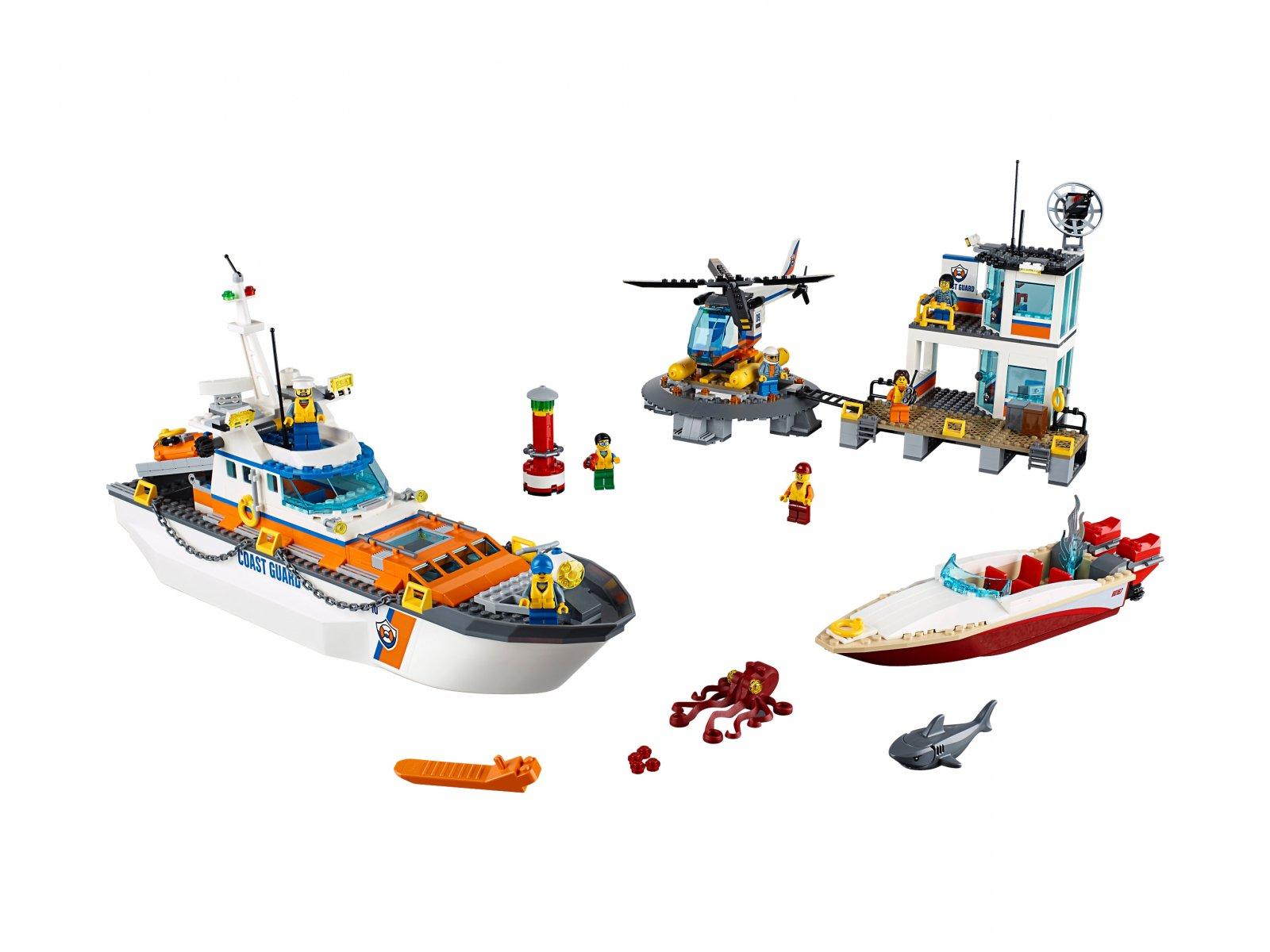 LEGO 60167 Kwatera straży przybrzeżnej