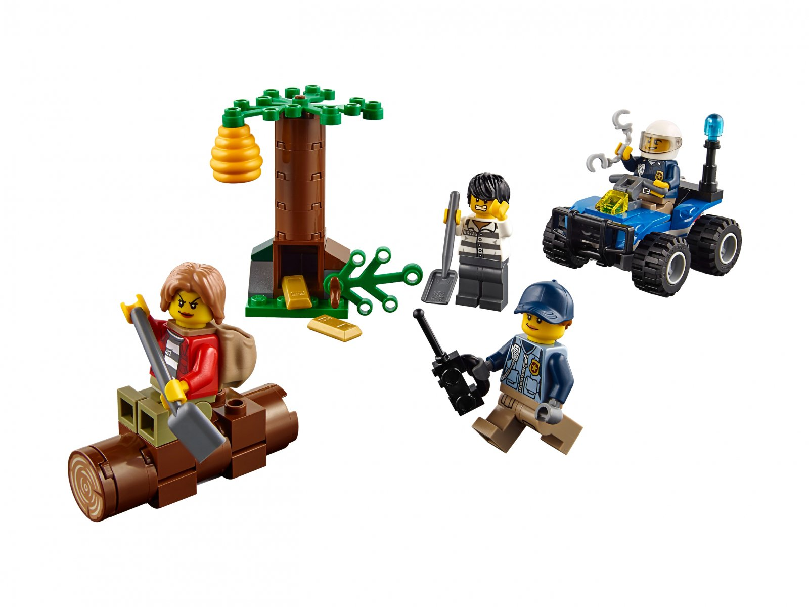 LEGO City Uciekinierzy w górach 60171