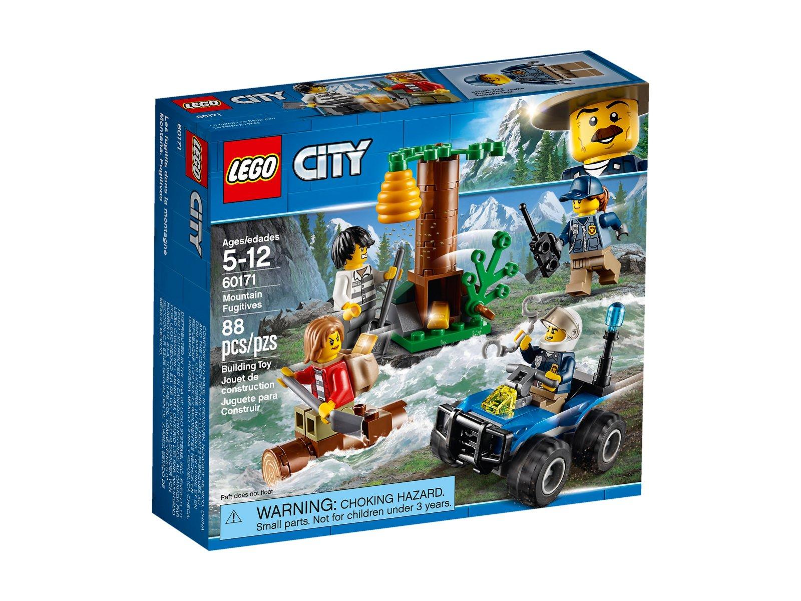 LEGO 60171 City Uciekinierzy w górach