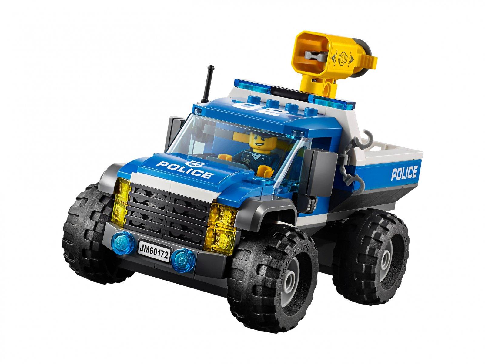 LEGO 60172 City Pościg górską drogą