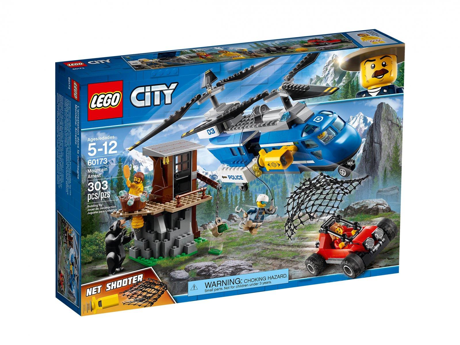 LEGO City Aresztowanie w górach