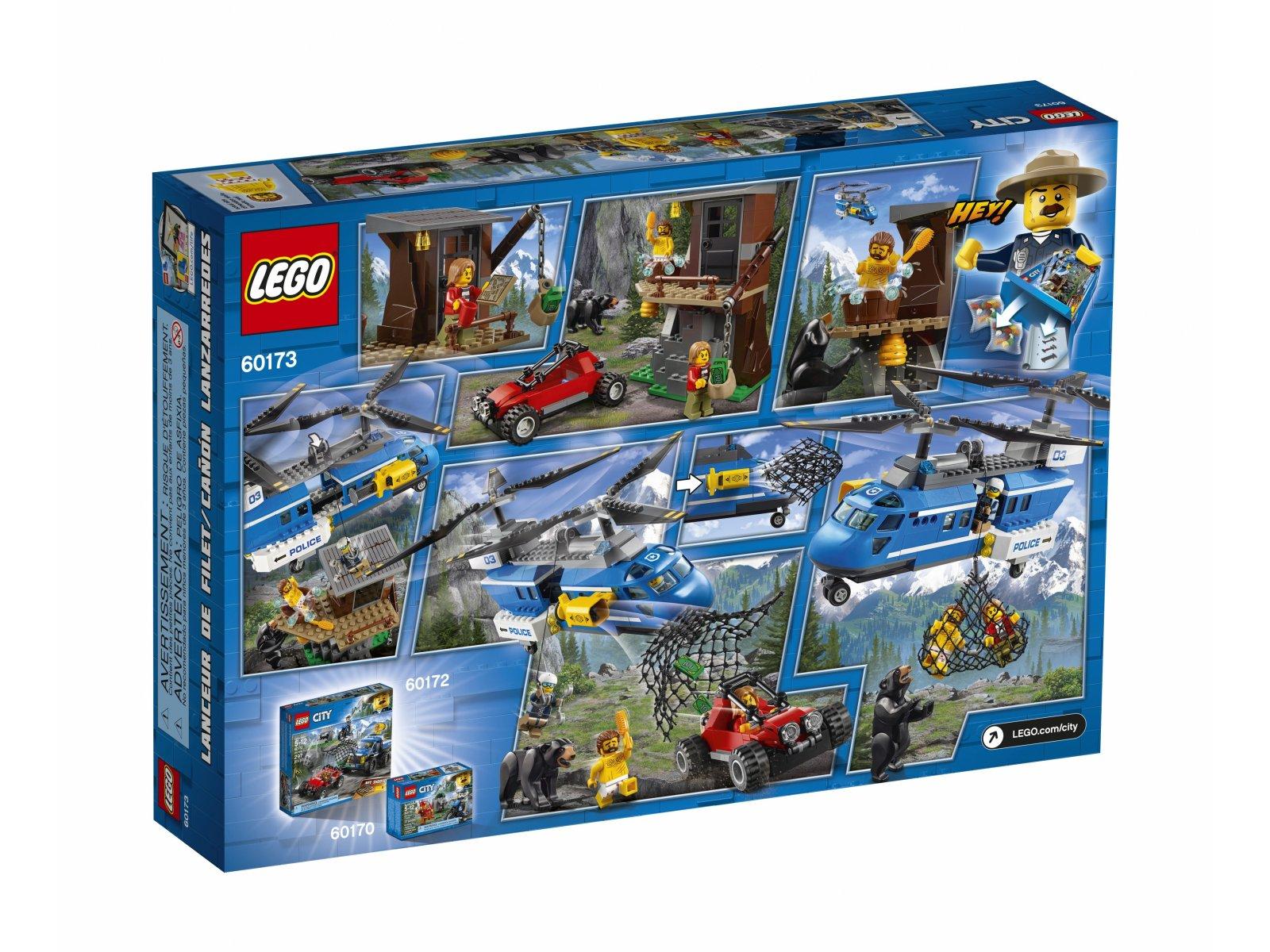 LEGO City Aresztowanie w górach 60173