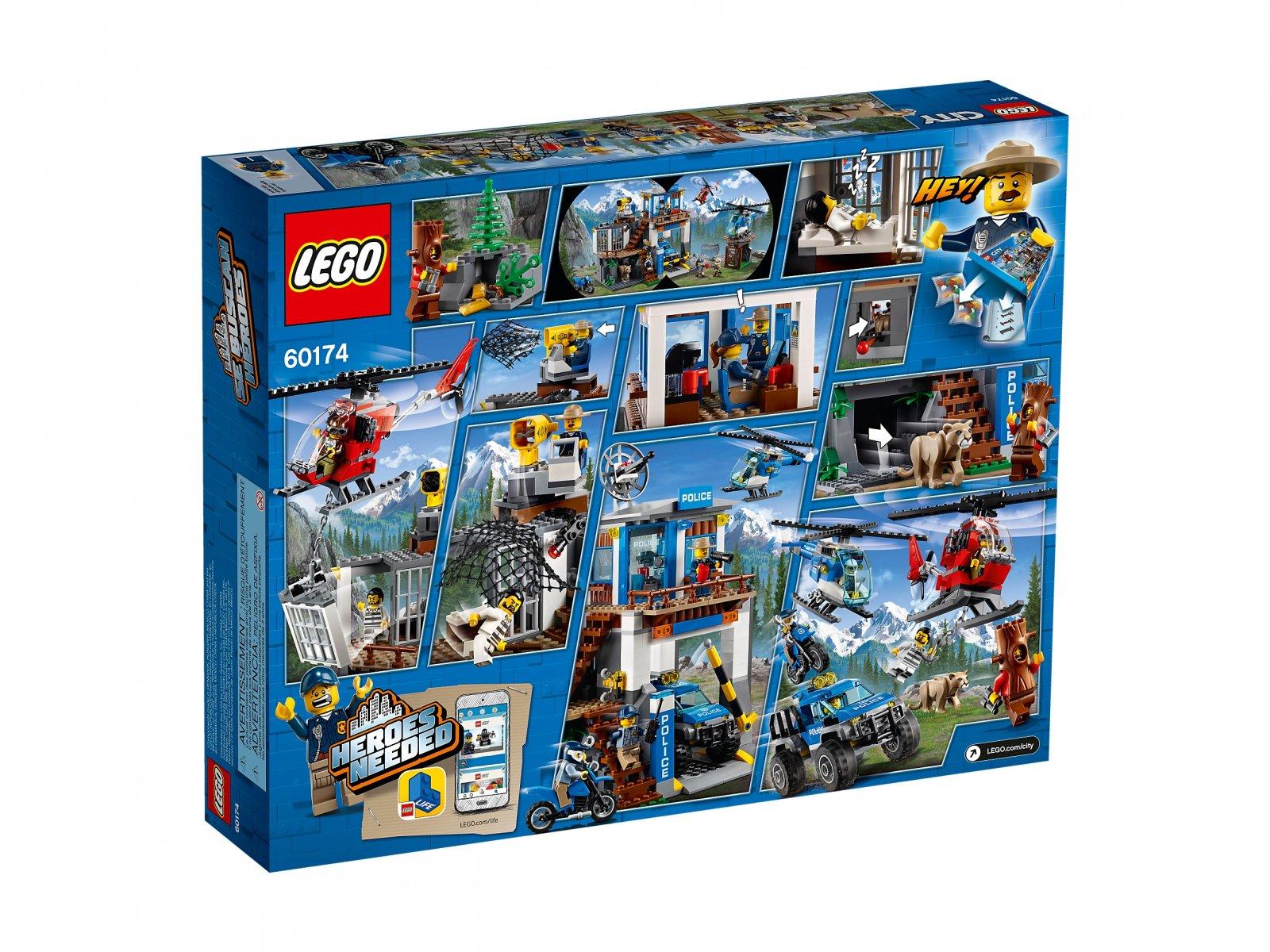 Lego 60174 City Górski posterunek policji