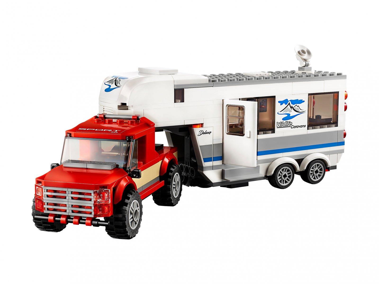 LEGO 60182 City Pickup z przyczepą