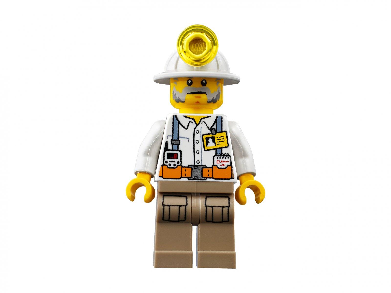 LEGO City Ekipa górnicza 60184
