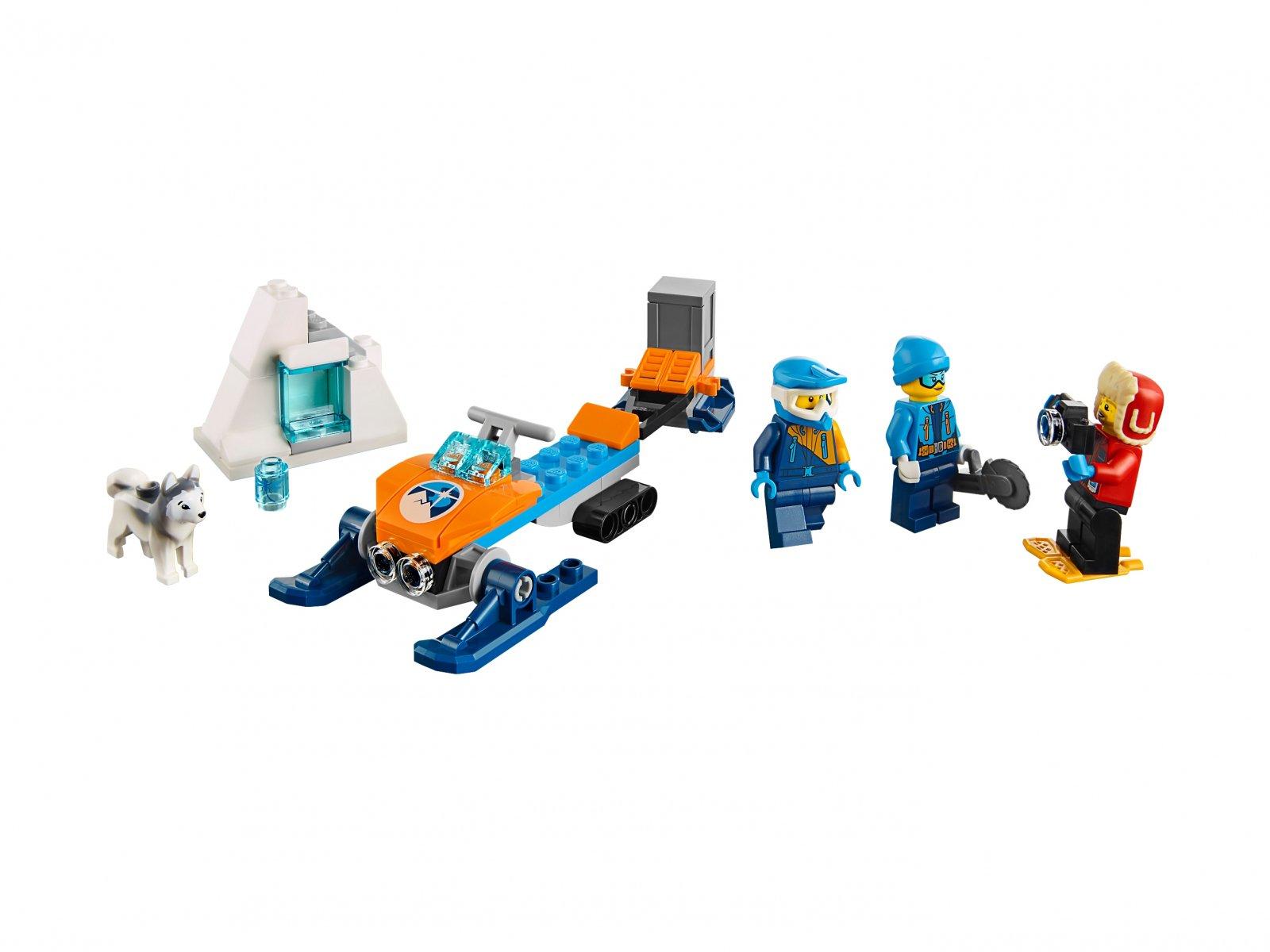 LEGO City 60191 Arktyczny zespół badawczy