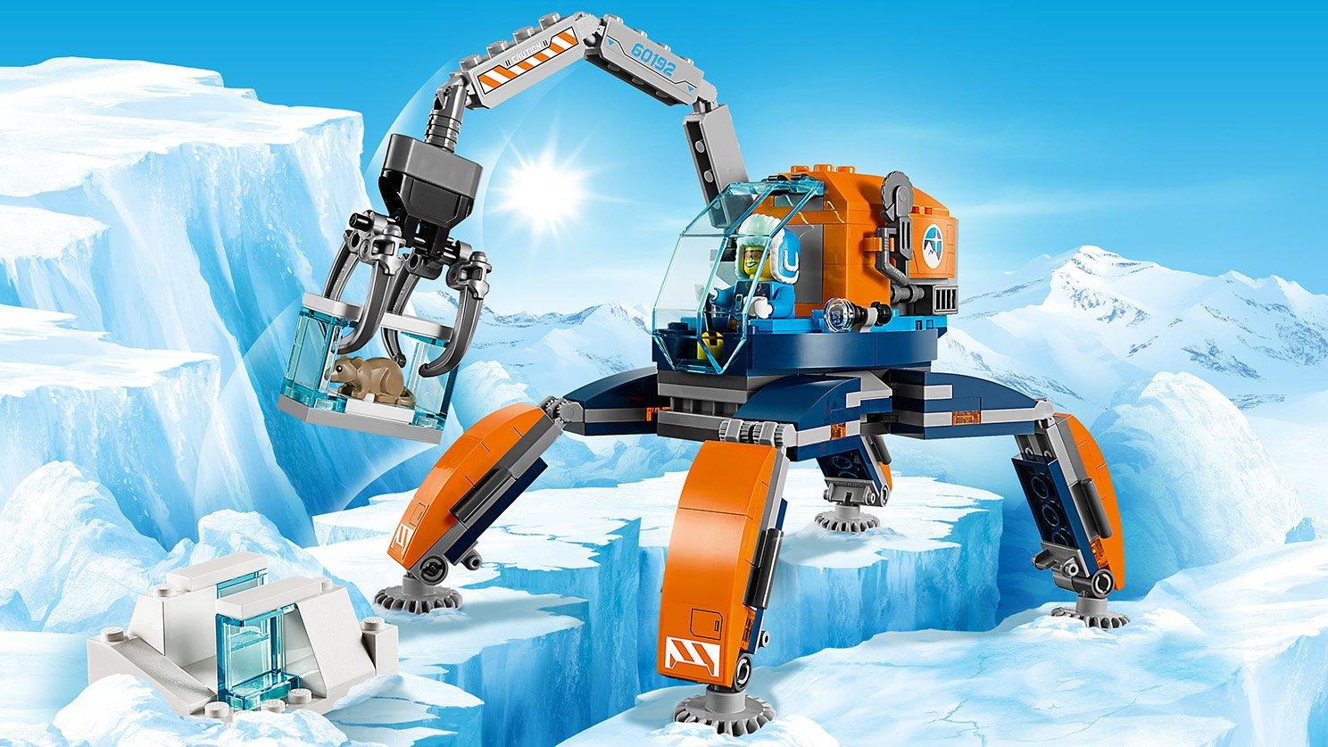 Lego 60192 City Arktyczny łazik Lodowy Zklockówpl