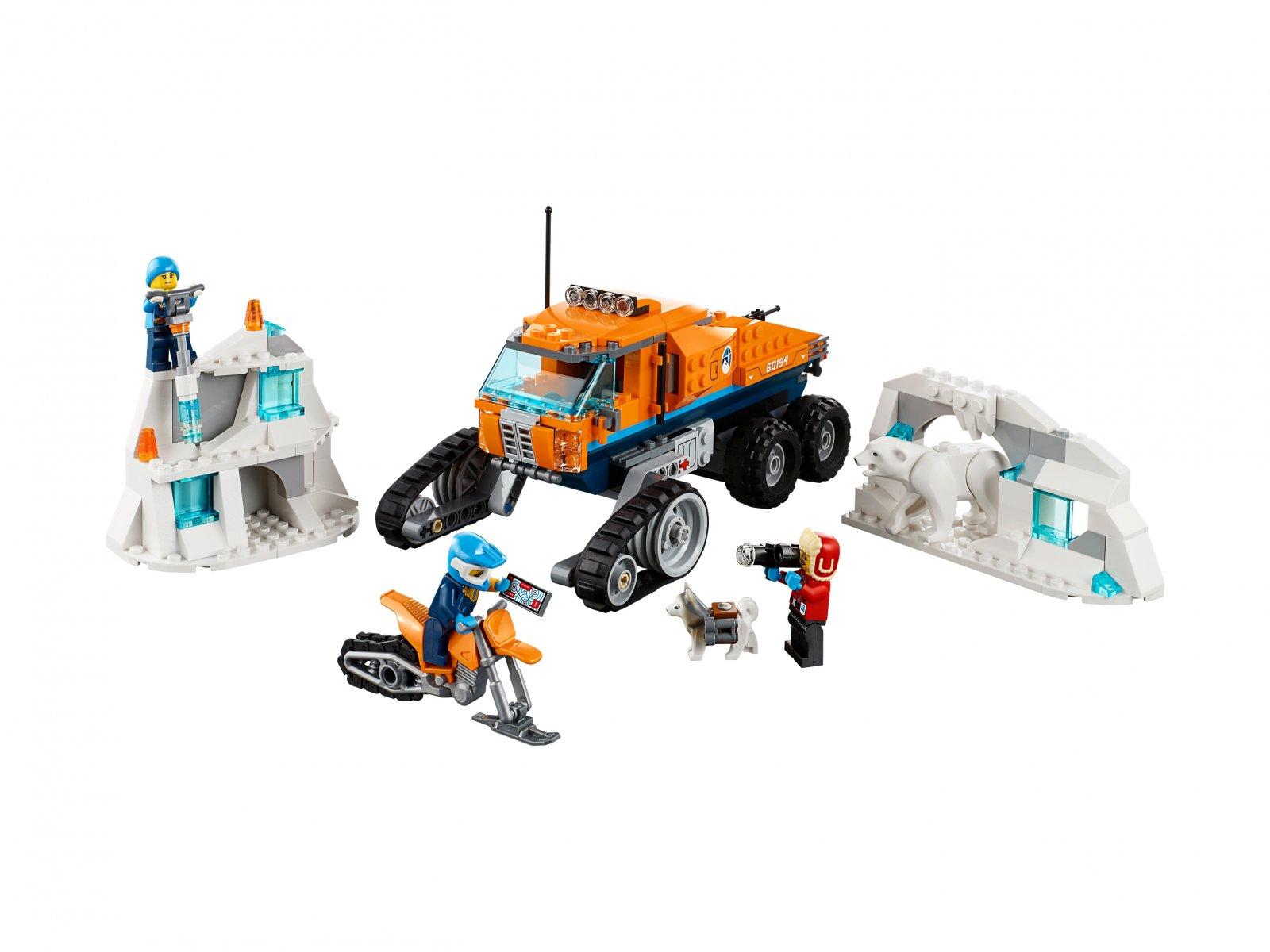 LEGO 60194 Arktyczna terenówka zwiadowcza