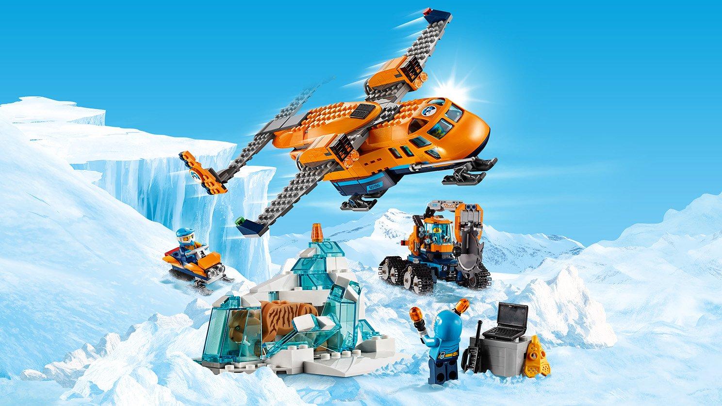 Lego City 60196 Arktyczny Samolot Dostawczy Zdjęcie 16