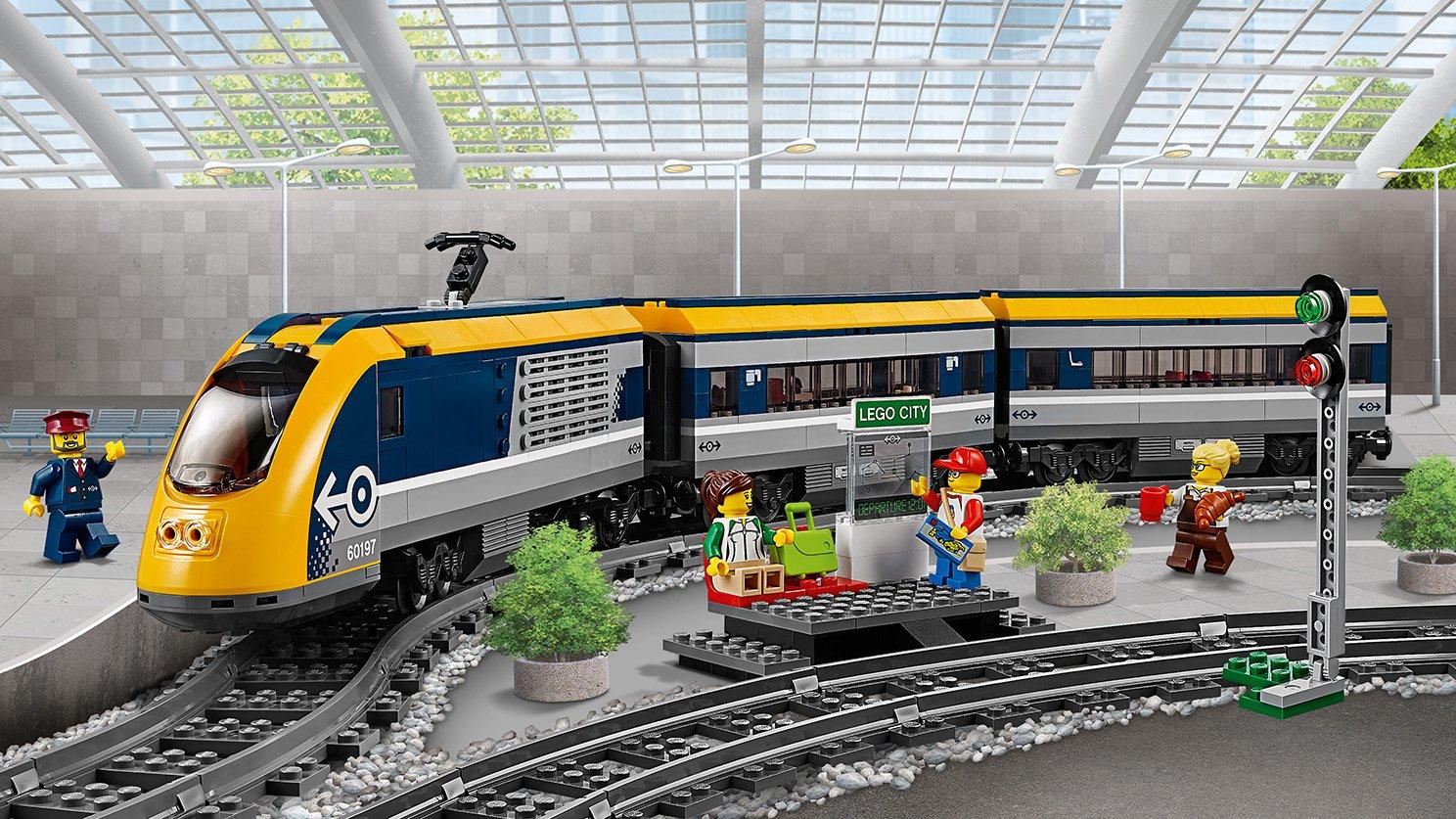 Lego 60197 City Pociąg Pasażerski Zklockówpl