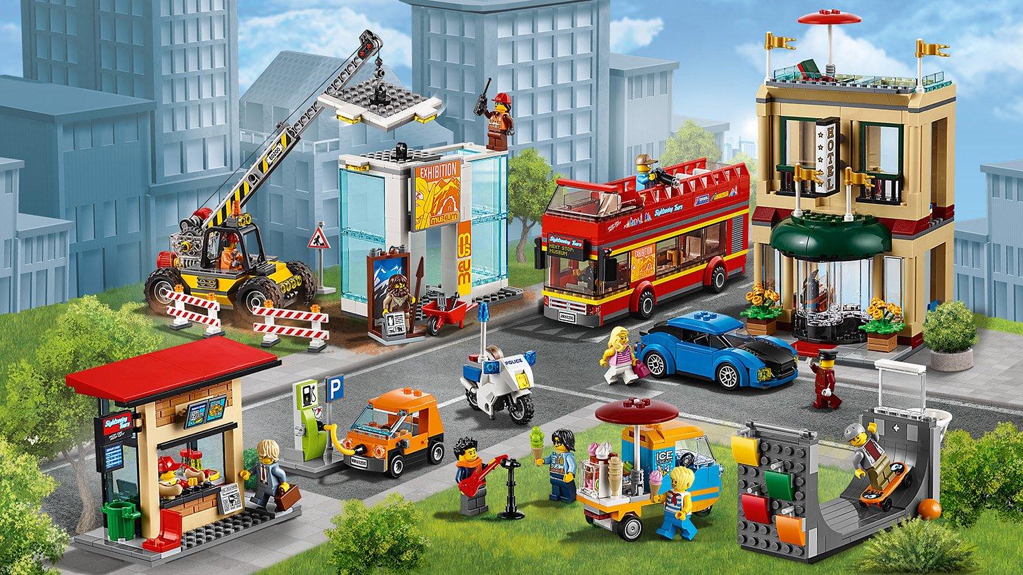 Lego 60200 City Stolica Porównaj Ceny Zklockówpl