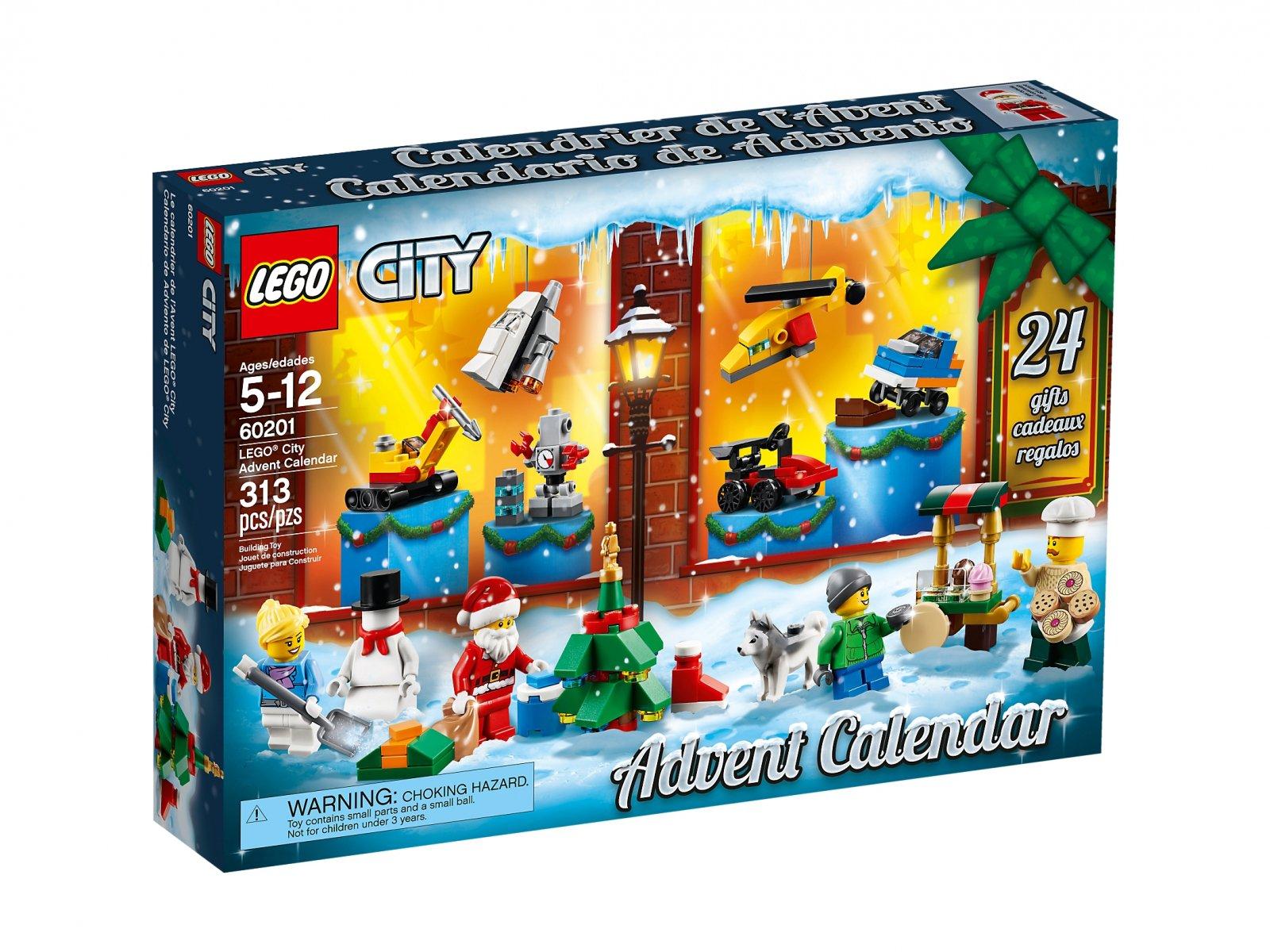 LEGO City Kalendarz adwentowy LEGO® City
