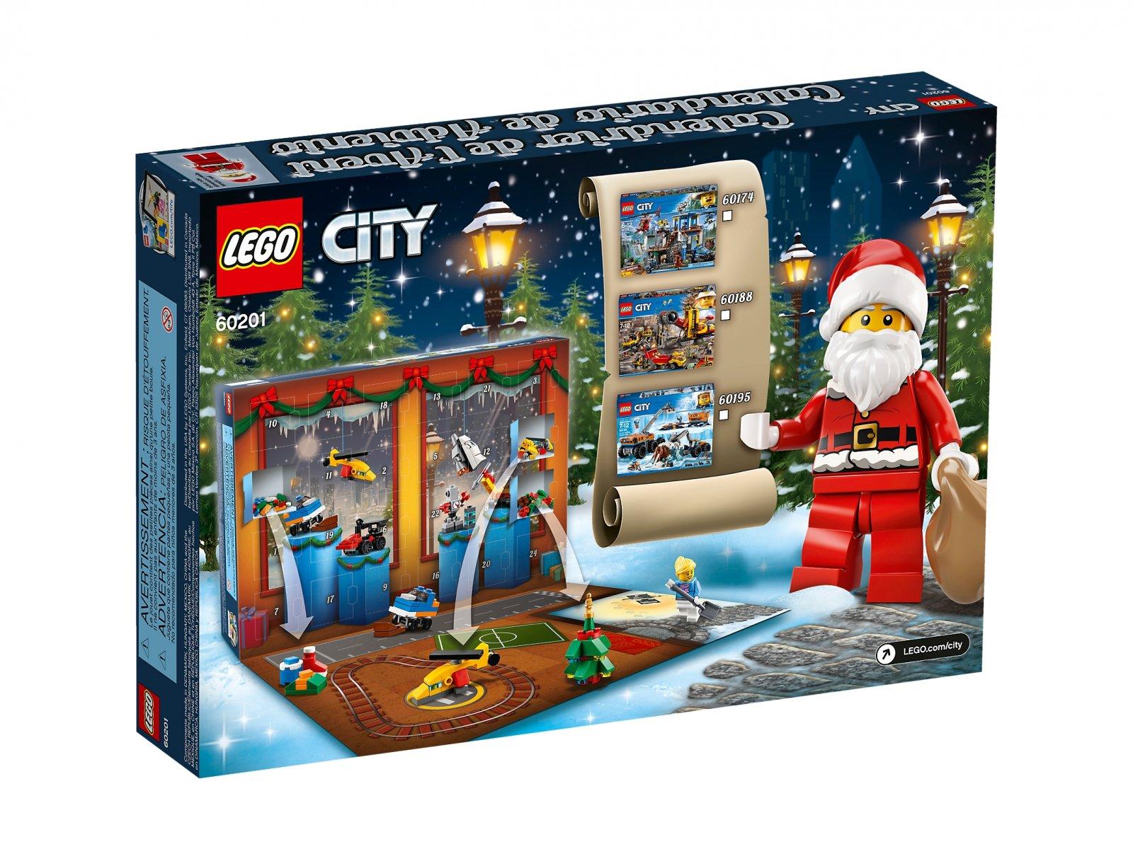 LEGO City 60201 Kalendarz adwentowy LEGO® City